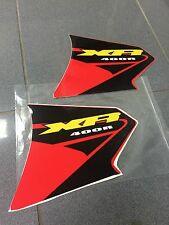 HONDA XR400 XR 400 XR FUEL TANK DECALS STICKERS GAS TANK DECALS GRAPHICS CUSTOM