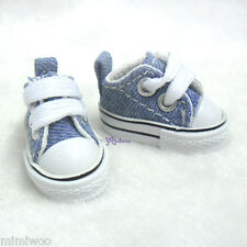 Hujoo Berry Yomi Wings Neo-Go Obitsu 1/6 Male Doll Shoes Denim Sneaker Dark Blue