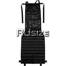 NEW Tactical MOLLE/PALS Panel for Most Cars Seat Black Pouch Cover Truck Airsoft