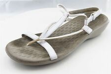 Privo by Clarks Women Shoes Size 9 White Synthetic Slingbacks