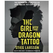 Millennium Ser.: The Girl with the Dragon Tattoo by Stieg Larsson (2011, CD,...