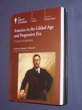 Teaching Co Great Courses DVDs :      AMERICA GILDED AGE PROGRESSIVE ERA   new
