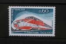 FRANCE 1974 TGV 001 Turbotrain Locomotive. Set of 1. Mint Never Hinged. SG2055