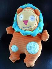 Q5/ DOUDOU comfoter LION - ALEX JR - orange bleu vert jaune - EXCELLENT ETAT !