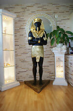 1 x Pharao XXL Ägyptische lebensgroße Figuren 188cm Schakal Anubis Rar Ramses
