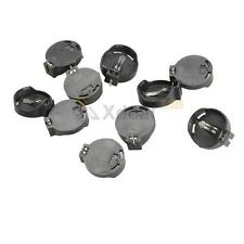 XD# 10pcs Portable CR2032 CR2025 General Button Battery Clip Holder Box Case