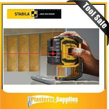 Stabila LAX300 Self Levelling Crossline and Plumb Laser  Perfect for Partitions