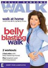 Leslie Sansone Just Walk: Belly Blasting Walk NEW R4 DVD