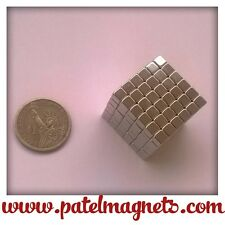 5mm x 5mm x 5mm Neodymium Cube Magnets N42 - 16pcs