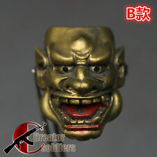 """Grimace hood 1/6 Scale Soldier Head Mask For 12"""" Action Figure Original B Style"""
