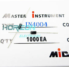 100Pcs 1N4004 DO-41 IN4004 1A 400V Rectifie Diodes top quality