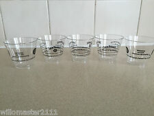 5    JACK DANIELS   TASTING   CUPS NEW FROM 2009