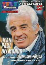 TELE PROGRAM 2000/14 (7/4/2000) JEAN-PAUL BELMONDO DEPARDIEU CLAUDIA CARDINALE