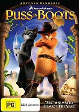 Puss in Boots DVD NEW