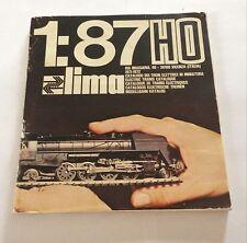 CATALOGO TRENINI LIMA 1/87 H0 1971-1972