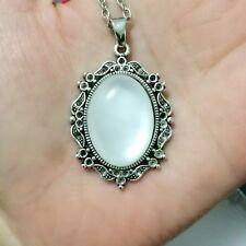 1pcs Fashion Goddess Cameo Charm silver Alloy Lady Necklace