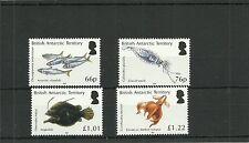 BRITISH ANTARCTIC TERRITORY 2016 OCEAN ZONES  SET  MNH