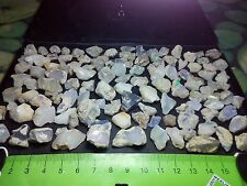 Opal Ethiopian Rough Welo 495 cts - 123 pieces