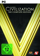 Civilization V 5 Complete Edition PC Steam Key Download Code - 60 Min Lieferung