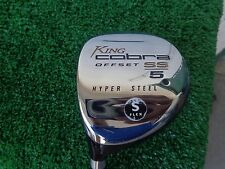 Left Hand King Cobra Offset SS 5 Fairway Wood 19* Hyper Steel Stiff Shaft NEW LH