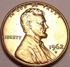 United States Unc 1962-D Lincoln Memorial Cent~Free Shipping