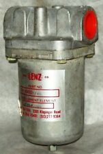 "Lenz 1"" Hydraulic Suction In Line Filter DH-1000-100"