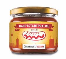 HAUPTSTADTPRALINE authentische Berliner Currywurst im Glas +Sauce (2,36€/100g)