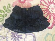 Baby Gap 1969 Toddler Girl Jean Skirt size 4T
