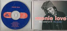 MONIE LOVE raro CD SINGLE  4 tracce IN A WORD OR 2 + THE POWER