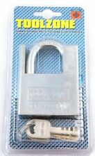 60mm High Grade Security Protected Strong Steel Padlock Gate, Shed, Garage Lock