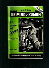 KRIMINAL-ROMAN  JERRY COTTON  # 75/'50-69 BASTEI