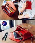 Women iPhone 5 6 smart phone card case Clutch Handbag Organiser Bag Purse Wallet