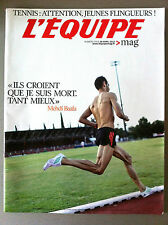 L'Equipe Magazine 23/04/2012; Entretien Mehdi Baala/ Hockey Bellemare/ Bacary