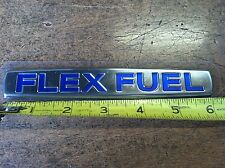 "NEW OEM NISSAN ""FLEX FUEL"" EMBLEM"