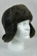 100% Sheepskin Shearling Leather Trapper Biker Bomber Aviator Ushanka M-2XL NWT