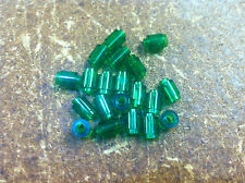 x20 NEW Trans-Green Brick, Round 1 x 1 Open Stud  , Lego Bulk lot