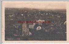 (105183) Foto AK Neukirchen, Pleiße, Ortsansicht mit St. Martins Kirche 1941