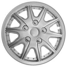 TopTech Revolution 16 Inch Boxed Wheel Trim Set of 4 Silver Hub Caps Covers