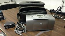 Hp Photosmart 100 Portable  Printer w Case and Cables