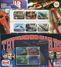 GB Presentation Pack No. 450 2011 THUNDERBIRDS GERRY ANDERSON INC M/S + COMIC