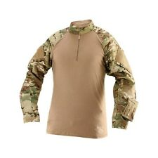 Tru-Spec Combat Shirt TRU Long Sleeve 1/4 Zip Multicam, Medium, 2568004
