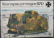 TAURO MODEL 101 - Sturmpanzerwagen A7V - 1:35 - Modellbausatz - Tank Model Kit