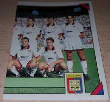 FIGURINA CALCIATORI PANINI 1993/94 CAGLIARI SQUADRA ALBUM 1994