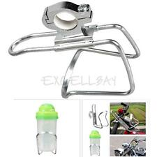 Cycling Bike Bicycle Motorcycle Water Bottle Holder Rack Silver New