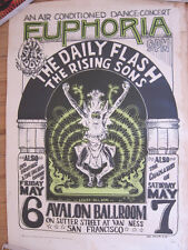 DAILY FLASH Rising Sons Janis Joplin Charlatans Wes Wilson Family Dog #7 Poster