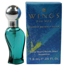 Wings by Giorgio Beverly Hills for Men Miniature EDT Cologne Spray 0.25 oz. NEW