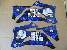 FX METAL MULISHA  GRAPHICS YAMAHA YZ250F YZ450F  2006 2007  2008 2009