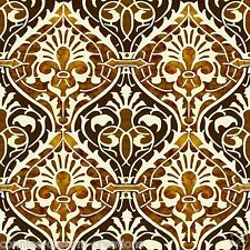 "Terracotta Arabesque 6"" Art Tile Kitchen Back Splash Ceramic Border Accent"