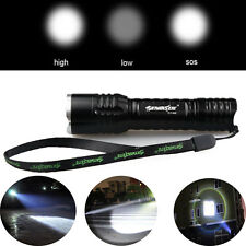 Compact 4000 Lumens CREE XM-L T6 LED Zoom 18650 Gold Flashlight Lamp Torches A05