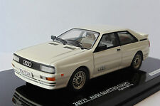 AUDI QUATTRO COUPE ALPIN WHITE 1981 VITESSE 20777 1/43 WEISS LIMITED EDITION